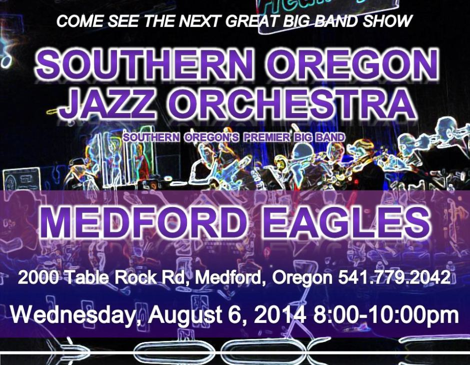 SOJO at the Medford Eagles 8/6/14!